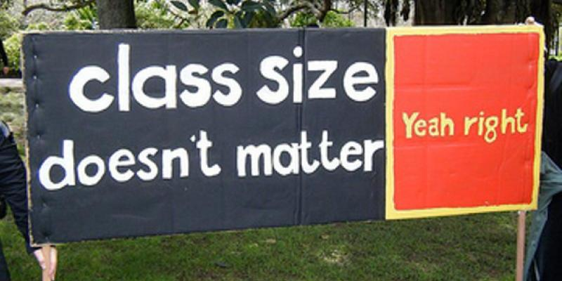 Class size banner 2010 Tui yeah right