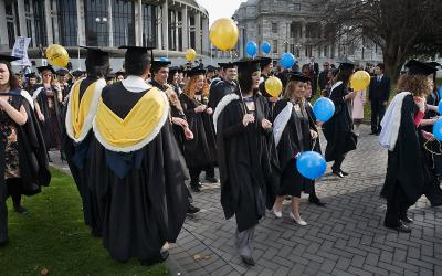 Graduation New Zealand Massey University 800