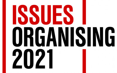 Issues and Organising Logo 2021 banner