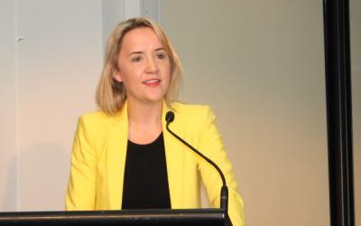 Nikki Kaye at PPTA Conf 2013 800by400