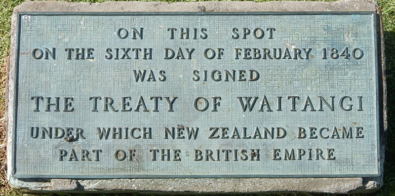 Treaty Plaque by mikecogh CC BY SA 2.0