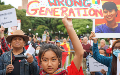 Wrong generation Myanmar support at NZ parliament