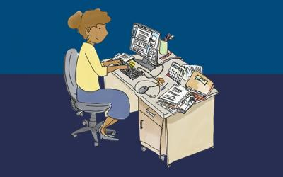 woman at desk web