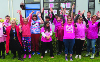 Pink Shirt Day 2020 Havelock North High School diverse learners